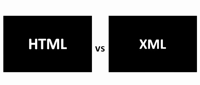 What is the difference between HTML and XML?